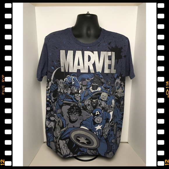 Disney Other - T-Shirt~Disney~Marvel~Superheroes~